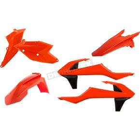 Acerbis Flo Orange Standard Replacement Plastic Kit - 2634064617