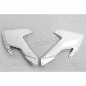 UFO White Radiator Cover  - HU03365-041