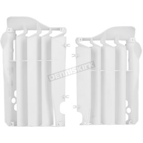 Polisport White Radiator Louvers - 8455700003