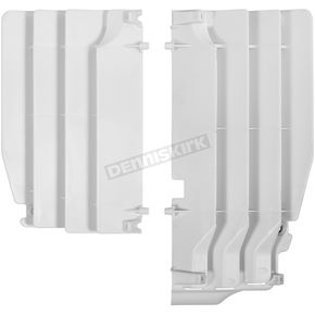 Polisport White Radiator Louvers - 8456100001