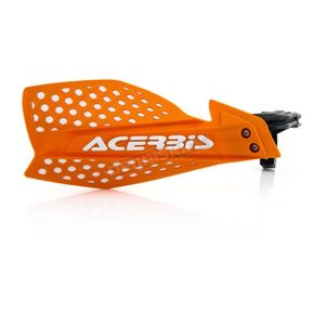 Acerbis Orange/White X-Ultimate Handguards - 2645481362