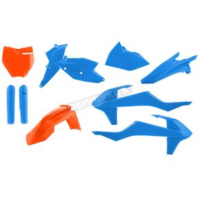 TLD Limited Edition Orange/Blue Full Replacement Plastic Kit - 2421061415