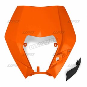 Orange Headlight Plastic - KT040390127