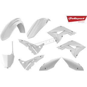 White Complete Plastic Restyle Kit - 90820