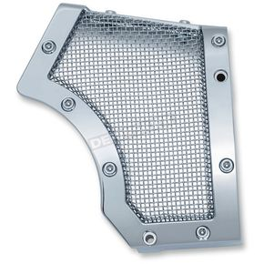 Kuryakyn Chrome Mesh Front Pulley Cover - 6554