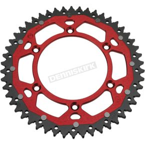 Moose 50 Tooth Red Dual Rear Sprocket  - 1210-1468
