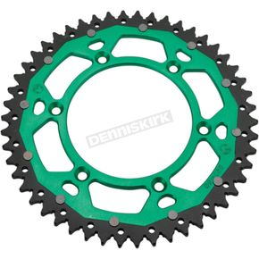 Moose 51 Tooth Green Dual Rear Sprocket - 1210-1497