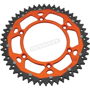 Moose 48 Tooth Orange Dual Rear Sprocket  - 1210-1516