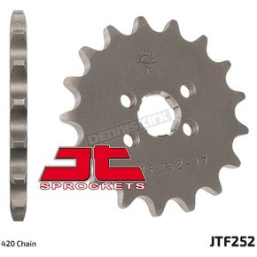 JT Sprockets Front Chromoly Steel Alloy 420 17 Tooth Sprocket - JTF252.17