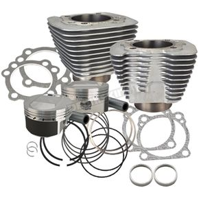 S&S Cycle XL 1200 to 1250 Conversion Big Bore Kit (Silver) - 910-0436