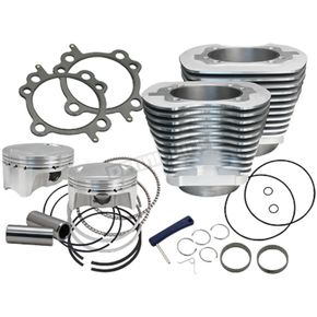 S&S Cycle 98 in. Bolt-In Big Bore Kit (Silver) - 910-0482