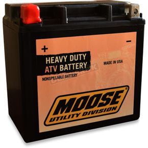 Moose GYZ Factory-Activated AGM Maintenance-Free Battery - 2113-0599
