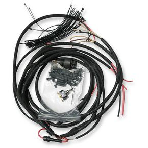 NYC Choppers Retro Custom Cloth Wiring Harness - C-WIREHARNESS