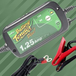 Battery Tender 1.25 AMP Selectable Charger - 022-0211-DL-WH