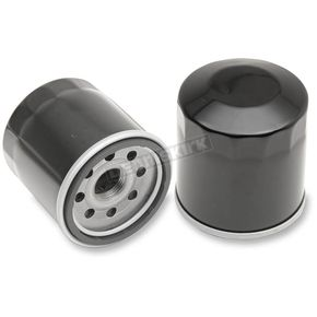 Drag Specialties Black Spin On Replacement OEM Oil Filter  - 0712-0479