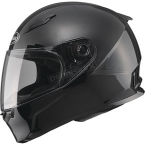 GMax Black FF49 Snowmobile Helmet - 72-6300M