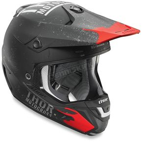 Thor Black Verge Objective Helmet - 0110-4717