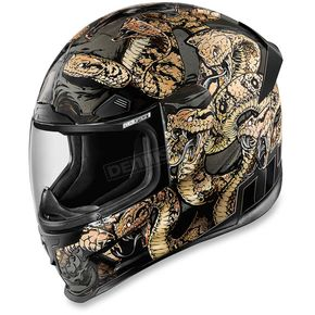 Icon Gold Airframe Pro Cottonmouth Helmet - 0101-9326
