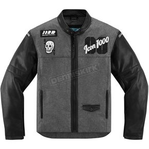 Icon 1000 Black Vigilante Stickup Jacket - 2820-3492