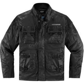 Icon 1000 Black Forestall Jacket - 2820-3517