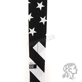 Zan Headgear Black/White Flag Cooldanna - DC219