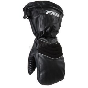 FXR Racing Womens Black Leather Mitts - 16600.10004