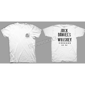 Jack Daniels White Pocket T-Shirt - 15261466JD-01-2X