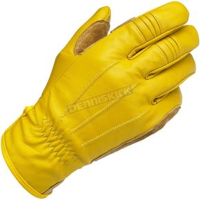 Biltwell Gold Work Gloves - GW-MED-01-GD