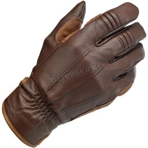 Biltwell Chocolate Work Gloves - GW-XLG-01-CO