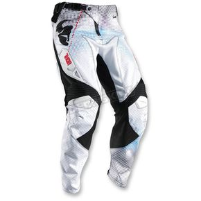 Thor White/Red Fuse Air Lit Pants - 2901-5761
