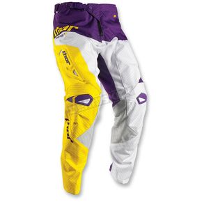 Thor White/Purple Fuse Air Pinin Pants - 2901-5768