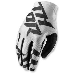 Thor White/Black Void Dazz Gloves - 3330-3991