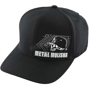 Metal Mulisha Black Switch Curved Hat - SU6596023BKSM