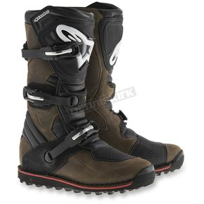 Alpinestars Brown Tech T Boots - 2004017-818-9