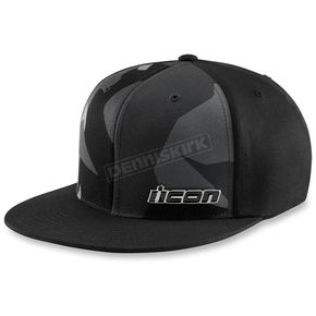 Icon Black Recocamo Hat - 2501-2512