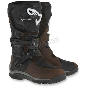 Alpinestars Brown Corozal Adventure Drystar Oiled Leather Boots - 2047516-82-11