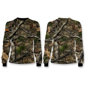 Lethal Threat Camo Backwoods Skull Long Sleeve Shirt - SC50500XXXL