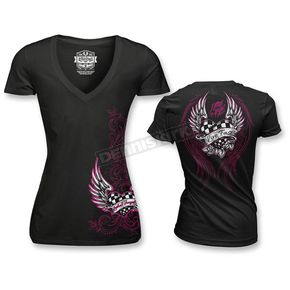 Lethal Threat Womens Race Heart T-Shirt - LT20362XXL
