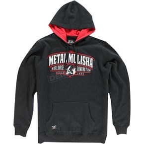 Metal Mulisha Cuts Hooded Pullover - FA6510005BLRXL