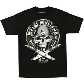 Metal Mulisha Deegan Built to Ride T-Shirt - FA6518042BLKXXL