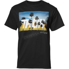 Thor Mens Black San Diego Tee Shirt - 3030-16000