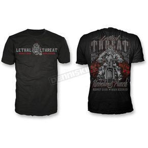 Lethal Threat Respect Given T-Shirt - LT20490XXXL