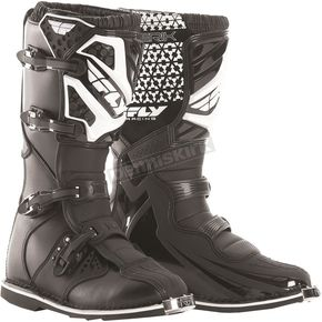 Fly Racing Black Maverik Boots - 364-56114
