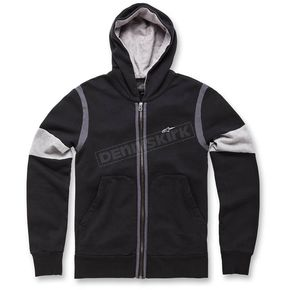 Alpinestars Black Champ Fleece Zip Hoody  - 1036-53002-10XL