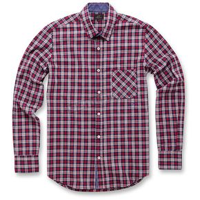 Alpinestars Red Enduro Long Sleeve Shirt  - 103631001-30-S