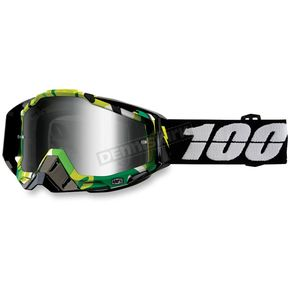 100% Racecraft Bootcamp Goggles w/Mirror Silver Lens - 50110-194-02