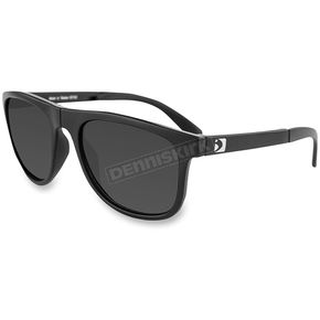 Bobster Hex Matte Black RX Ready Folding Sunglasses w/Smoke Lenses - EHEX001