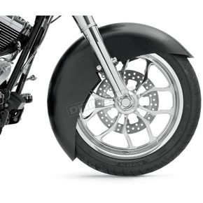 Klock Werks 21 in. Raw Wrapper Tire Hugger Series Fit Kit Front Fender with Raw Blocks - 1402-0316
