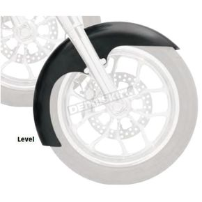 Klock Werks 21 in. Raw Level Tire Hugger Series Fit Kit Front Fender with Raw Blocks - 1402-0319