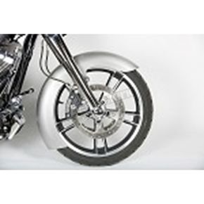 Russ Wernimont Designs 5.5 in. Wide Front OFC Fender w/Raw Spacers - RWD-50134